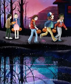 Stranger Things - season 1 - Halloween tribute